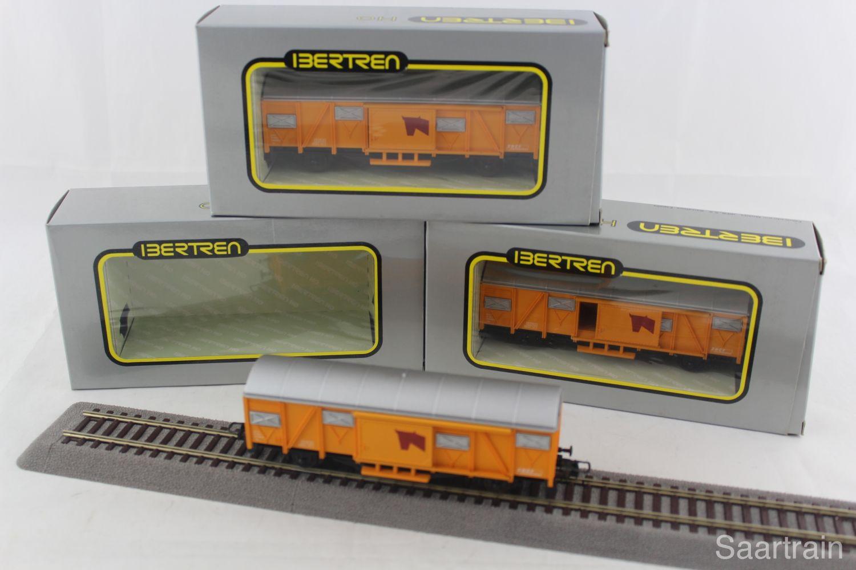 Ibertren 2369 Güterwagen-Set der SNCF in gelb (3 Wagen ...